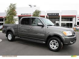 2006 Toyota Tundra Limited Double Cab 4x4 in Phantom Gray Pearl ...