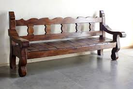 custom spanish style furniture. Custom Made Banca Recortada Grande Spanish Style Furniture C
