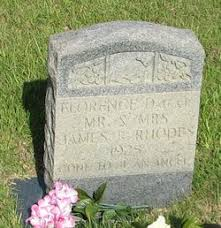 Florence Rhodes (1925-1925) - Find A Grave Memorial