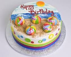 Beach Ball Cake Decorations Inspiration Beach Ball Cake Swim Party Pinterest Beach Ball Cake Beach
