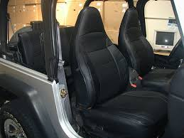 best jeep wrangler seat covers elegant jeep wrangler tj sahara 1997 2002 black iggee s leather
