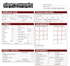shadowrun 5 character sheet shadowrun 5 the ultimate character sheet