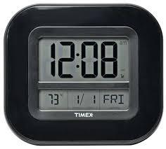best atomic wall clock digital time temp date large og