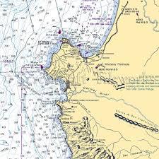 California Nautical Charts California Carmel Carmel Canyon Monterey Nautical Chart Decor