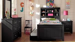 boys bedroom furniture black. cottage colors black 5 pc full bookcase bedroom boys furniture b