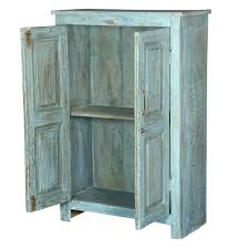 distressed blue 2 door reclaimed wood storage cabinet 2 door storage cabinet