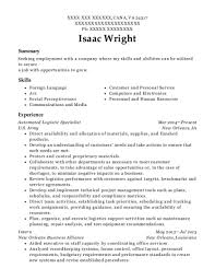 92a Resume Best Automated Logistical Specialist Resumes Resumehelp