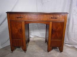 walnut office desks. Antique Art Deco Walnut Office Desk Vanity Desks