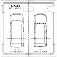 Double Car Garage Door Size  Home Design IdeasDouble Car Garage Size