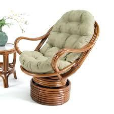 wicker swivel rocker best cushion chair rocking rattan retro pads amp cushions patio furniture wicker swivel rocker rattan chair