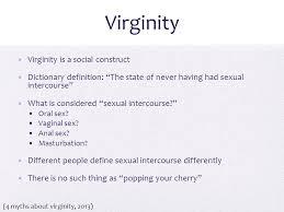Is masturbation considered sex
