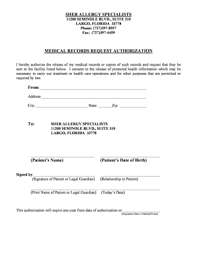 Medical Records Request Letter From Attorney 29 Printable Second Letter Requesting Medical Records Forms And