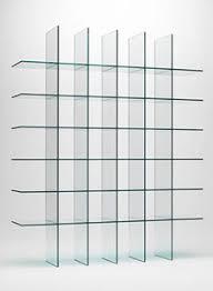 Glass shelves bookcase Wall Mounted Glas Italia Glass Shelves 1 By Shiro Kuramata Stardust Modern Design Glas Italia Glass Shelves 1 By Shiro Kuramata Stardust