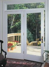 hinged patio door with screen. Pella ProLine® Wood Patio Doors Hinged Swing Open And Closed To Make Coming Going Easy. Door With Screen E