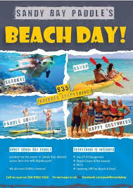 Beach Flyer Flyer For Our 35 Beach Day All Inclusive Deal Picture Of Sandy