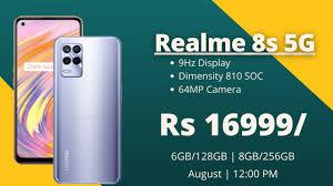Realme 8s 5G Price Launch Date ...