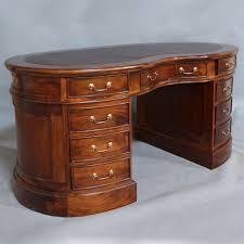 oval office desks. Solid Mahogany Kidney Office Desk Antique Reproduction Design Pre-Order Oval Desks