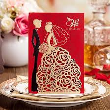 2017 new personalized wedding invitations cards red color with Wedding Invitations Fast And Cheap see larger image Printable Wedding Invitations