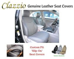 details about clazzio genuine leather seat covers for 2006 2007 dodge ram 2500 mega cab gray