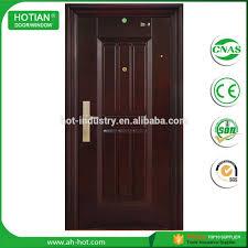 Single Design Door Single Double Steel Security Door Indian Main Gate Designs Metal Iron Door Buy Steel Door Catalogue Of Safety Door Gate Designs For Homes In Wood