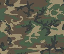 Army Camo Pattern