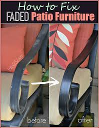 How to Fix Faded Aluminum Patio Furniture Using Just ONE mon