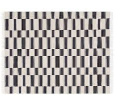 the emily meritt ticking stripe indoor outdoor rug