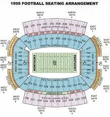 University Of Kentucky Stadium Seating Chart Kentucky Wildcats 2009 Football Schedule