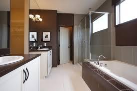 Simple Brown Bathrooms Ideas And Beige Bathroom O Throughout Design