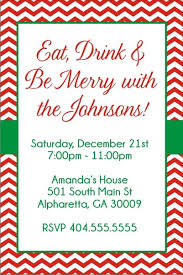 Christmas Holiday Invitations Chevron Christmas Holiday Party Invitation Click To Personalize
