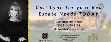 Lynn Hendrix, TX Realtor with Patton International Properties ...
