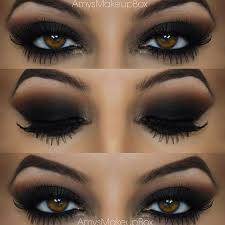 smokey eye makeup looks