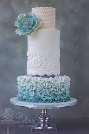 Ruffles Cake Design Ombre Petal Ruffles Wedding Cake Cakecentral Com