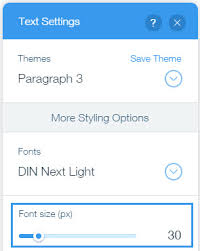 how to change text size changing the text size help center wix com