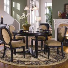 Impressive Formal Dining Room Set Contains Glass Round Table With - Dining room rug round table
