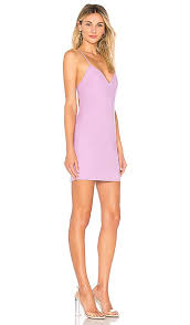 Superdown Size Chart Superdown Ashley Strappy Mini Dress In Lavender Revolve In