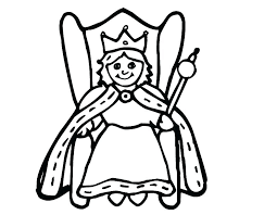 Coloring Pages Queen Queen Esther Coloring Pages Queen Coloring Page