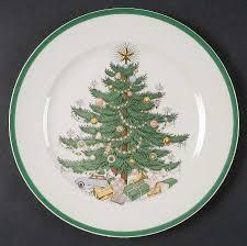Plummer (NY) Christmas Tree Luncheon Plate