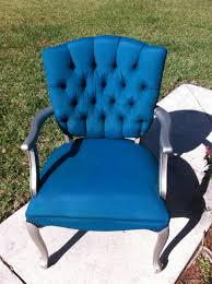 furniture fabric paintTulip Fabric Spray Paint Chair Update  Pinterest Addict