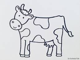 25 Idee Grappige Koeien Tekeningen Kleurplaat Mandala Kleurplaat