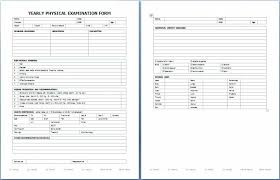 Medical Physical Form Template Medical Assessment Form Template Medical Physical Exam Form Hcsclub