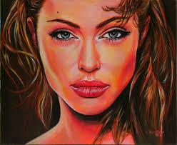 """""""Angelina"""" Malerei als Poster und Kunstdruck von <b>Alexandra Brehm</b> bestellen. - 295917"""