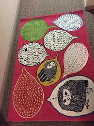 ikea gulort owl rug furniture home decor on carou