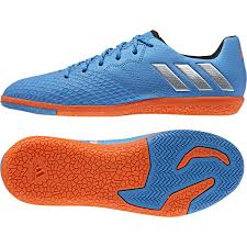 adidas indoor soccer shoes youth. adidas messi 16.3 youth indoor soccer shoes (shock blue/silver metallic) c
