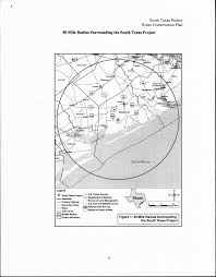 Documents to support review of the south texas project license renewal application wr 5 tceq id no 1610103 1610051 operation