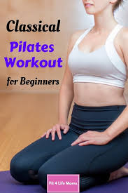 clical pilates workout for beginners