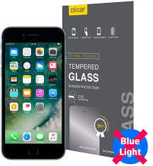How To Make A Blue Light On Your Phone Amazon Com Olixar For Iphone 8 Screen Protector Anti Blue