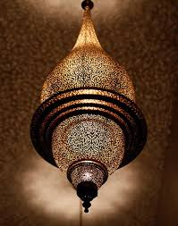 antique brass moroccan pendant lamp mediterranean dining room by moroccan bazaar