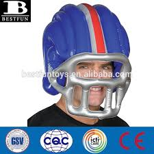 custom made large plastic american inflatable football helmet kids