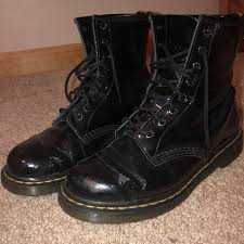 clwjr 7 days ago milwaukee united states black patent leather dr marten 1460 boots